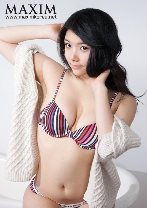 【おっぱい】コリアンビューティーは伊達じゃない!ますます美しくなっていっている韓国人の女の子たちのおっぱい画像がエロすぎる!【30枚】 13