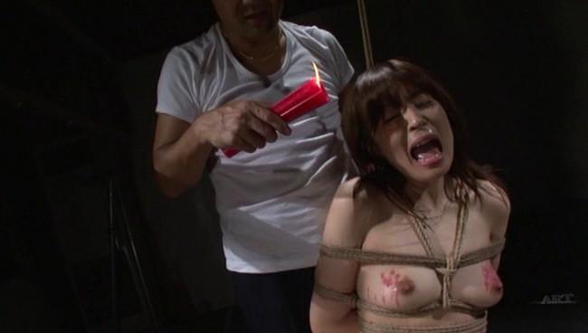 【おっぱい】全裸に下着にレオタードに!緊縛プレイで縛り上げられて吊るし上げられちゃっている女の子たちのおっぱい画像がエロすぎる!【30枚】 10