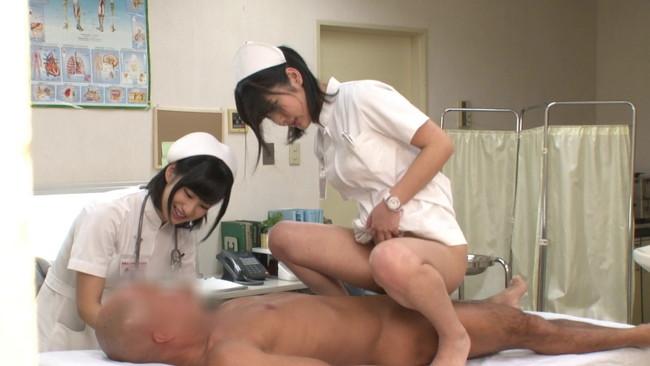 【おっぱい】性欲処理外来に来る男性患者を優しくセックスで治療する選りすぐりの美人看護師たちのおっぱい画像がエロすぎる!【30枚】 10