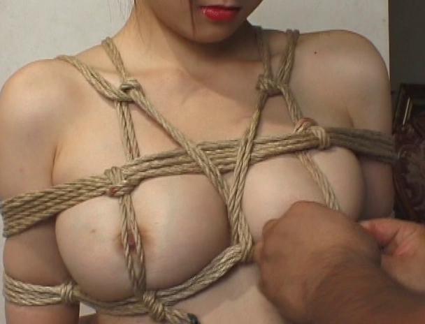 """【おっぱい】緊縛プレイに代名詞でもある""""乳房十文字縛り""""で魅力的なカラダを見せつけてくれちゃっている巨乳な女性たちのおっぱい画像がエロすぎる!【30枚】 24"""