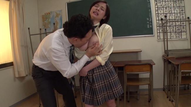 【おっぱい】勉強よりもセックスに夢中!Hカップ女子校生のおっぱい画像がエロすぎる!【30枚】