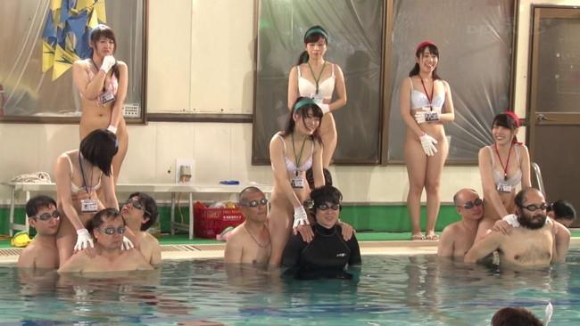 【おっぱい】水泳大会2016!熱くなり過ぎて中出しまで!SOD女子社員たちのおっぱい画像がエロすぎる!【30枚】 01