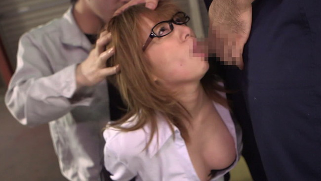 【おっぱい】複数の男たちの臭いチ●ポを無理やり口に突っ込まれ、泣きながら凌辱されてゆくエートOLのおっぱい画像がエロすぎる!【30枚】 17